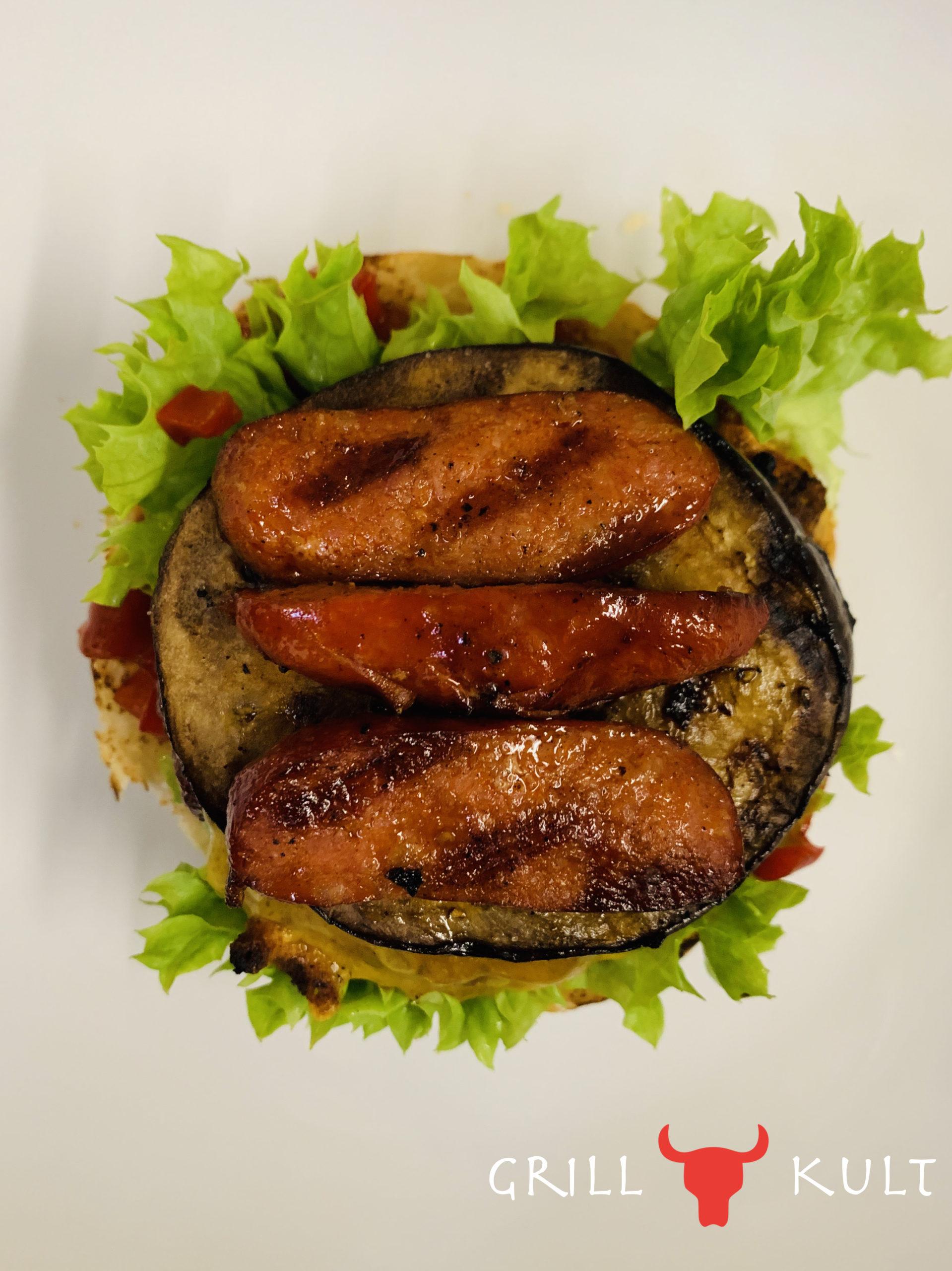 Chorizo Burger mit Logo 2
